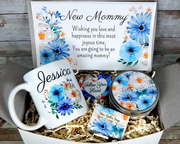 new mom gift basket baby shower gift for expectant mother