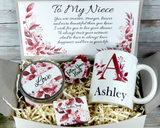 personalized niece gift basket