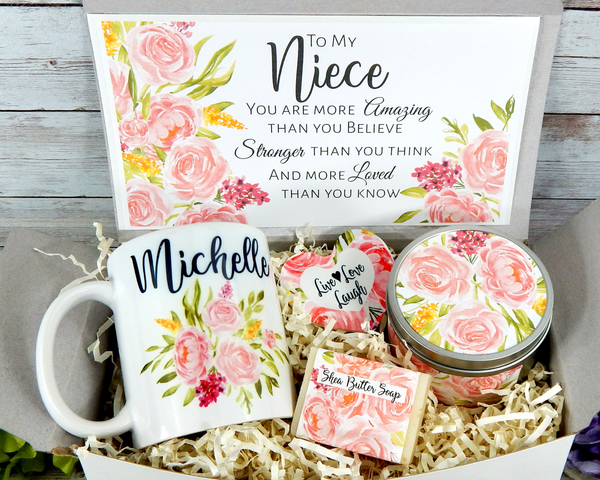 niece gift basket for birthday