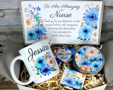 nurse appreciation gift basket