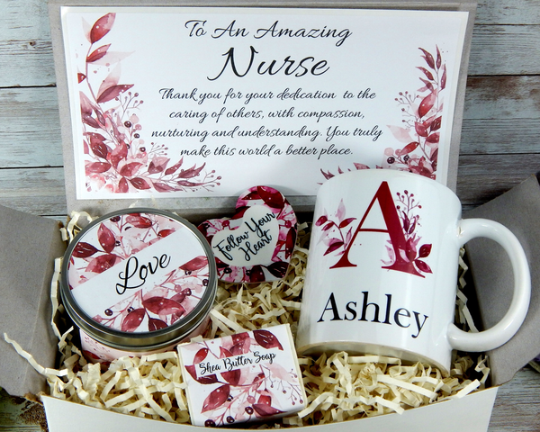 personalized nurse gift