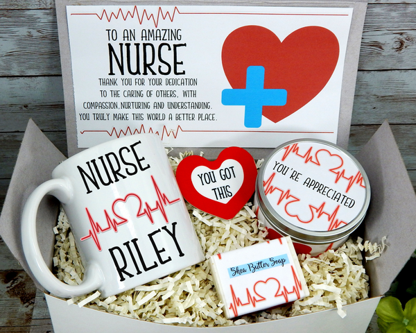 gift basket for male nurse