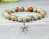 beach themed gifts ocean inspired jewelry starfish charm