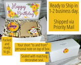 Happy Birthday Gift Basket to Send To Her - Ship Direct Gift Box