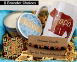 Papa Bear Gift Box - Birthday Gift for Dad - Gift Basket For Dad