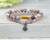 patience bracelet inspirational jewelry for women