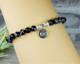 personalized engraved bracelet for mom