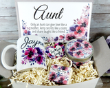 aunt gift basket for birthday