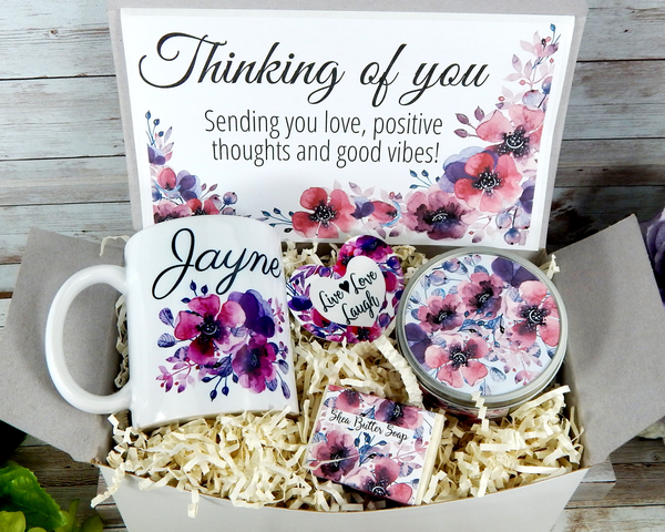 thinking of you gift box for friend hard times gifts