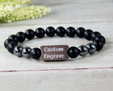 custom personalized engraved jewelry for men