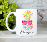 pineapple mug for gift basket