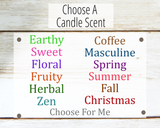 candle scent