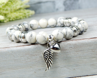 angel wing remembrance bracelet spiritual jewelry