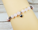 rose quartz handmade jewelry for women