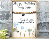 personalized birthday gift for mom with card