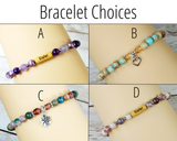 bracelet choices for sister gift basket