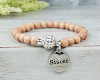 sister gift matching bracelets