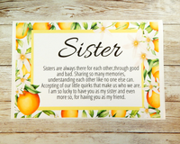 card for sister
