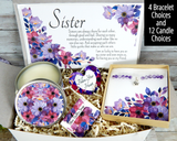 sister to sister gift basket for birthday