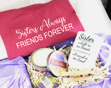 sister gift basket for birthday christmas sister gifts