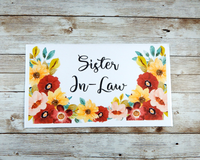 sister in law card