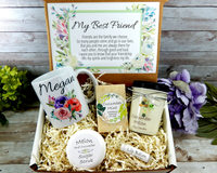 best friend gift basket birthday gift for friend