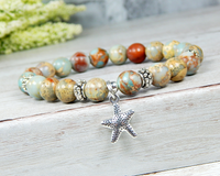 beach bracelet ocean inspired jewelry starfish gifts