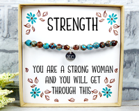Strength Jewelry - Inspirational Gifts for Hard Time – Supportive Bracelet