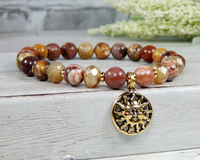 sun bracelet gemstone boho jewelry for women
