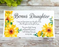 bonus daughter card