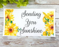 sending sunshine card