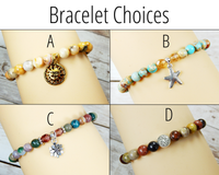 bracelet choices for sunshine gift box