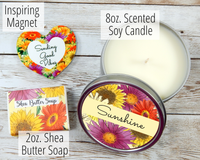 sunshine candle pick me up gifts