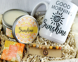 Sunshine Gift Basket - Gift For The Sunshine in Your Life - Birthday Gift Basket