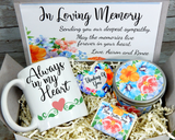 in loving memory gift box for loss of loved one