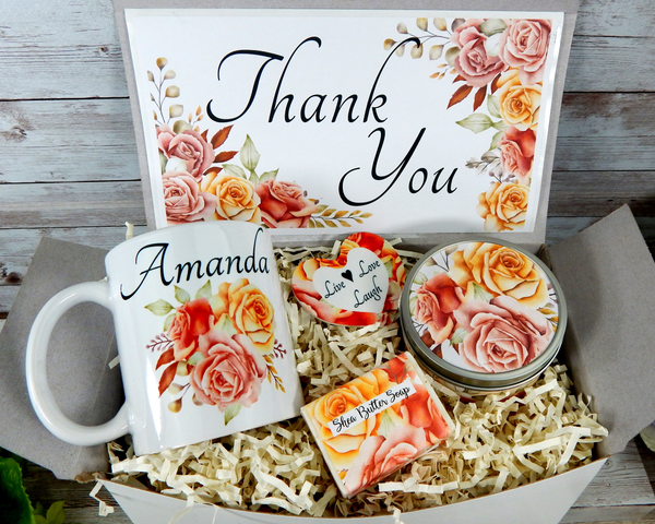 thank you gift basket to ship directly to her