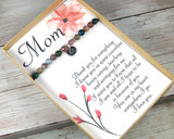 mothers day gifts engraved bracelet for mom