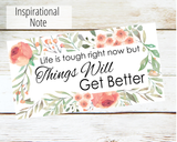 things will get better gift card