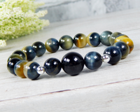 golden tiger eye bracelet for women handmade gemstone jewelry