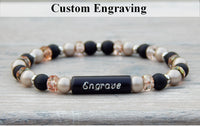 engraved bracelet personalized jewelry