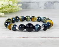 natural tiger eye bracelet gemstone jewelry for women