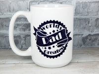 worlds greatest dad coffee cup