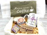 mama needs coffee gift basket for mom