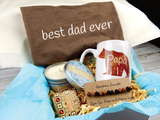 papa bear dad gift basket for fathers day