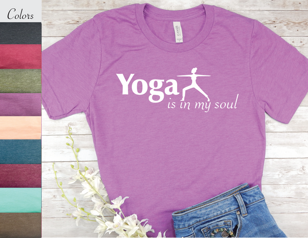 yoga t-shirt for yogis yoga lovers