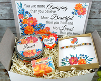 gift basket for inspiration and encouragement you are loved gift
