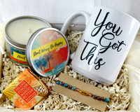 Encouragement Gift Basket For Women - You Got This Inspirational Gift Baskets