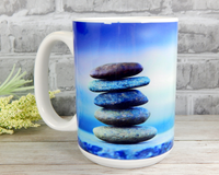 zen coffee mug for stress relief