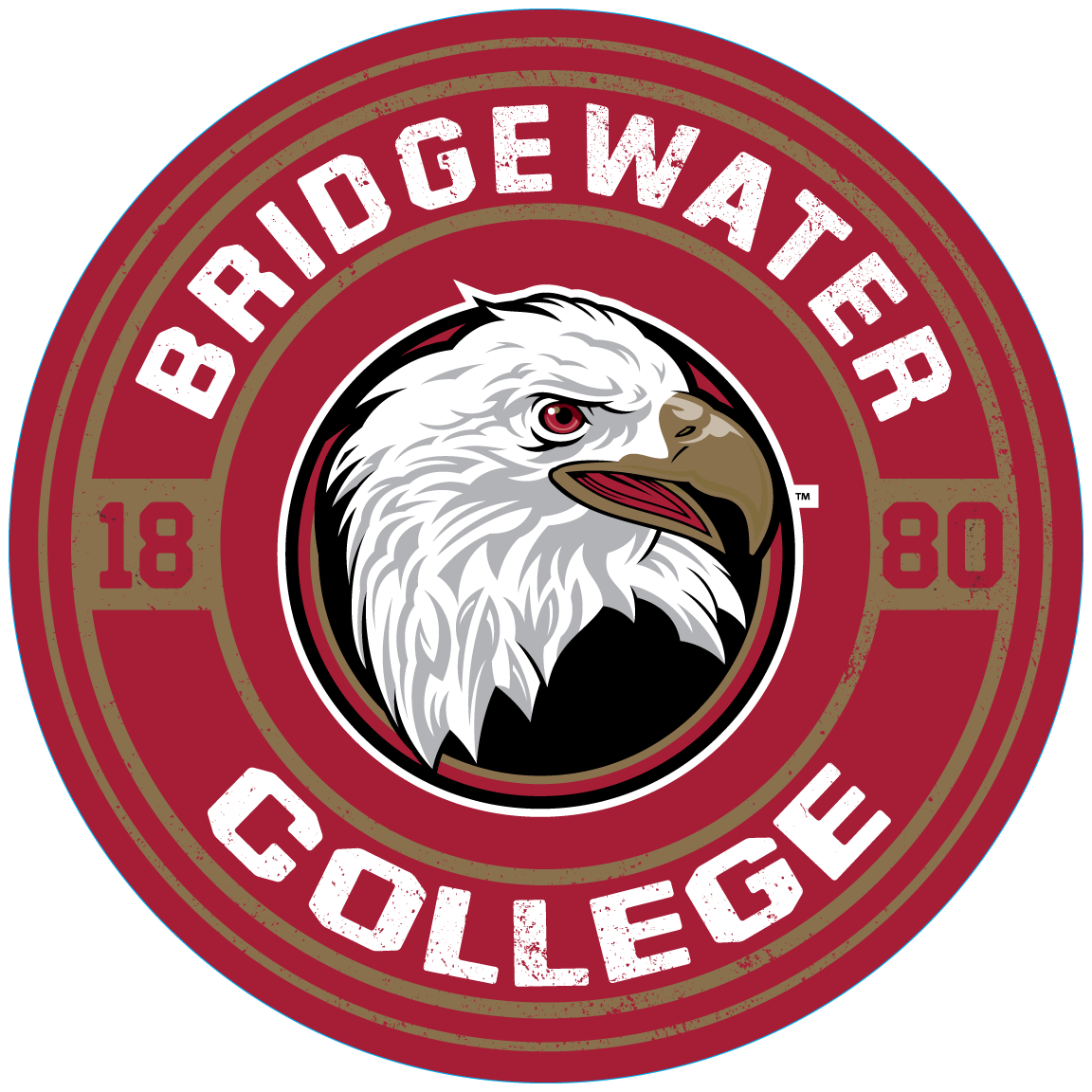 Bridgewater College Blue 84 Metal Sign