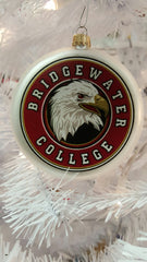 Bridgewater College Eagle Head Logo Ornament